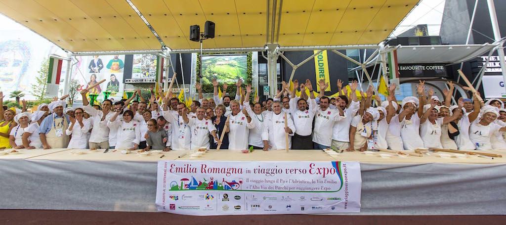 Emilia Romagna, ARRIVO ad EXPO