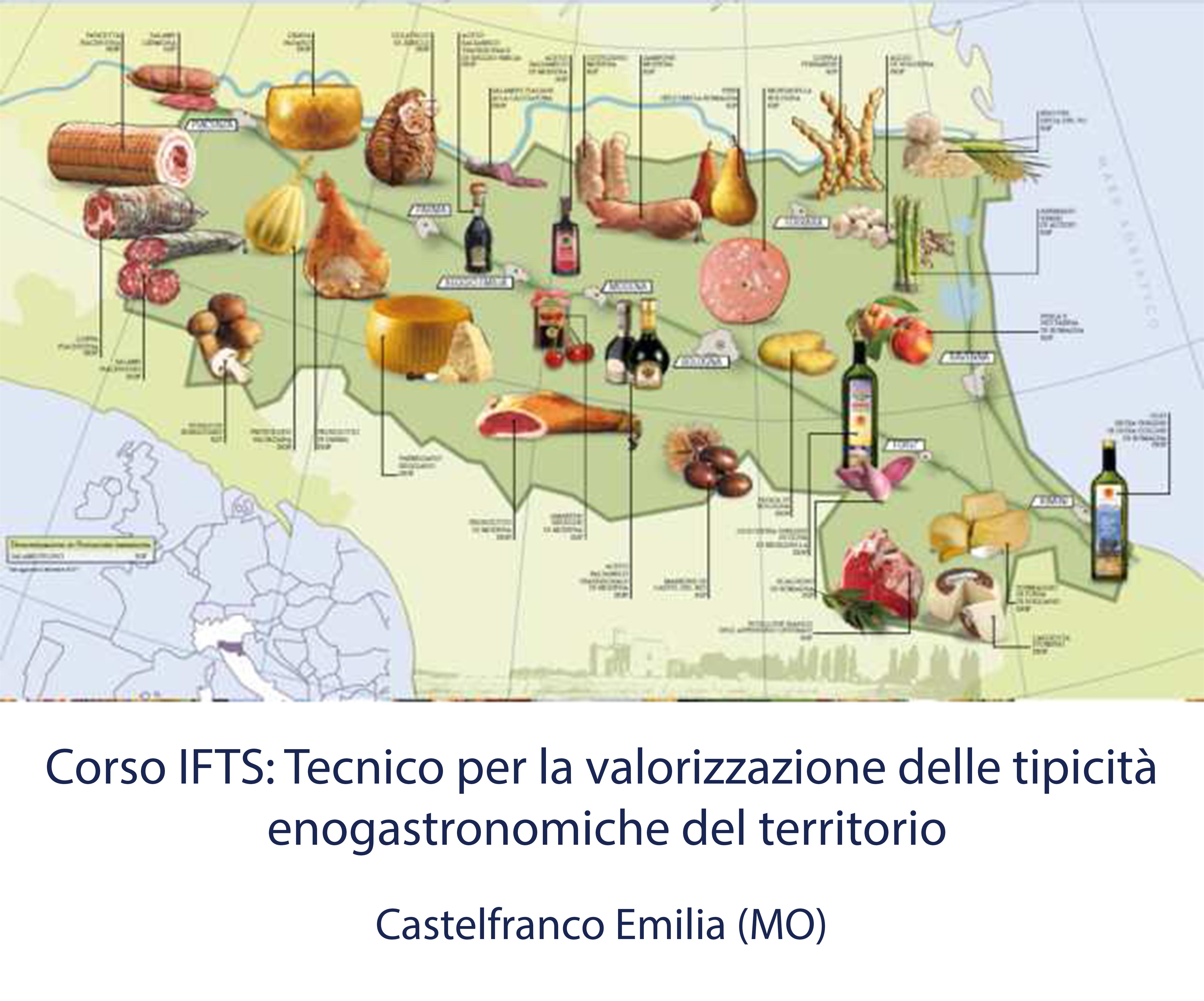 Tecnico per la valorizzazione delle tipicità enogastronimiche del territorio (Castelfranco Emilia)